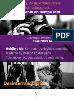 mLearning, desintermediación e innovación educativa Conocimiento en tiempo real