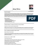 Farrukh Mushtaq Resume