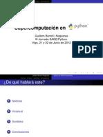 Supercomputación en Python