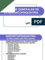 Aspectos Generales de La Gerontopsiquiatria 2012