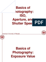 Basics of Photography Part I