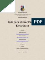 Guía factura electronica SIE
