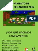 Presentación reunión de padres B12