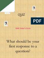Session 4 Quiz