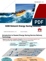 Huawei GSM Network Energy Saving Solution(for Technical)