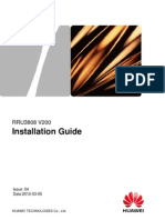 RRU3808 Installation Guide(V200_04)