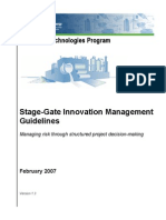 Itp Stage Gate Overview