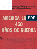América Latina. 450 años de guerra