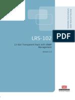 Manual de Instalación y Operación LRS-102 Versión 2.0
