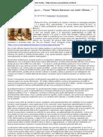 L'Italia della crisi, l'Europa e l'euro - Paolo D'Arpini