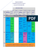 congreso cronograma