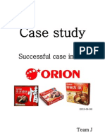 Orion Case Study