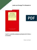História do ensino em Portugal