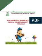 Reglamento Construccion y Obras Publicas