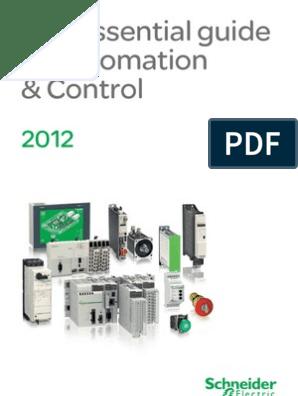 Schneider Automation Cat 2012 En | Programmable Logic