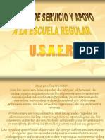 Diapositvas de Organizacion de Los Servicios de Educacion Especial