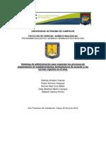 Administracion y Normatividad en Farmacia