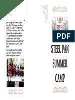 St Luke's Steel Band Summer Camp