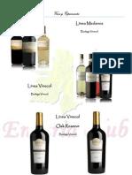 Catalogo de Productos de Enotria Club 2012