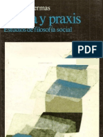 Habermas - Teoria y Praxis