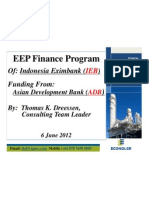 ACEF Indonesia Eximbank-ADB EE Finance Program 060612