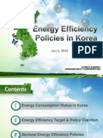 Song-Kwen Kang - Energy Efficiency Policies in Korea