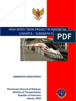 Java High Speed Train Project