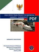 Java High Speed Train Project