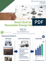 Eddie Tan - Smart Grid for Renewable Energy Integration