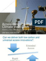 Letha Tawney - Accelerating Pro-Poor Climate Innovation