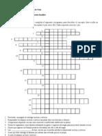 Material N 9 Crucigrama