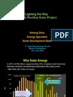 Aiming Zhou - Lighting the Way ADB's Rooftop Solar Project