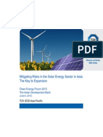 Pushkala Lakshmi Ratan - Mitigating Risks in the Solar Energy Sector in Asia the Key to Expansion
