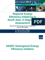 Thierry Lefevre - Regional Energy Efficiency Initiatives in South Asia a Diagnostic Assessment