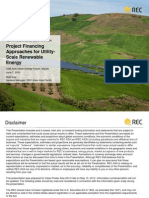 Matt Daly - Project Financing Approaches for Utility-Scale Renewable Energy