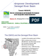 Tamsir Ndiaye - Hydropower Development in the Senegal River Basin