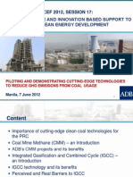 Annika Seiler - ADB's Knowledge and Innovation Based Support to PRC's Clean Energy Development