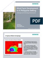 Gil Opina - Wind Farm Development in a Philippine Setting