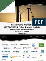 Steve Sawyer - Global Wind Market &