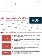 Tony Artiga - Solar Solutions for Off-Grid Communities