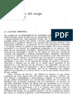 Boltansky - Los Usos Sociales Del Cuerpo - 2 Parte