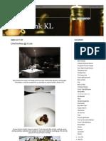 Eat Drink KL - 17072011 - Chef Andrea @ Il Lido