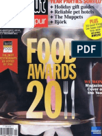 Time Out Kuala Lumpur - Dec 2011 - ToKL Food Awards Best Italian