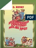 O.Henry-Rascumpararea capeteniei pieilor rosii