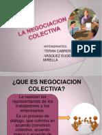 La Negociacion Colectiva..Terminada