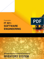 IT 321(Software Engineering) Presentation (1)