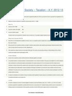 Co Operative Society Taxation a y 2012 13