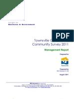 Townsville Community Attitude Survey