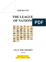 Blyton Enid the League of Nations (All for a World Peace) 1926