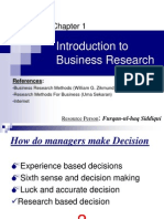 01. Introduction to Business Research